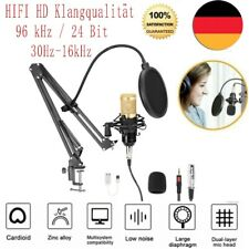 Profi Podcast Set Studiomikrofon Set Großmembran Kondensatormikrofon DHL 2021 DE