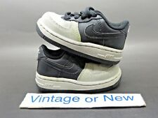 Nike Air Force 1 '07 Low Black Neutral Grey Toddler 2009 sz 5C