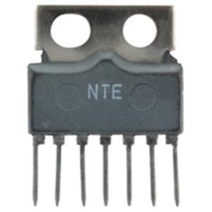 NTE Electronics NTE1684 INTEGRATED CIRCUIT TV VERTICAL DEFLECTION CIRCUIT 7-LEAD