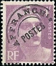 """FRANCE PREOBLITERE TIMBRE STAMP N°97 """"TYPE MARIANNE 4F VIOLET """" NEUF (x) TB"""