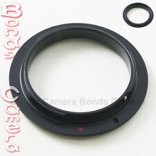 62 MM 62MM Macro Reverse Lens Adapter Ring For Canon EOS mount EF DSLR camera