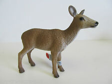 Schleich Wild Life Series - RED DEER COW - Hand Painted Figure - Ages 3 & up