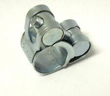 "ONE BOLT HOSE CLAMP T BOLT ZINC PLATED 17~19mm, 11/16"" ~ 3/4"" NEW <HC901"