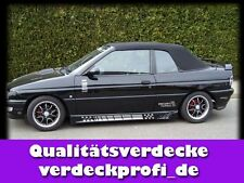 Ford Escort all (año 91 - 98) y cubierta de tela calidad superior negro descapotable referencia a