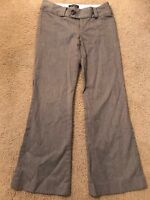 Banana Republic Womens Martin Fit No. 323 Stretch Grey Dress Pants Size 4
