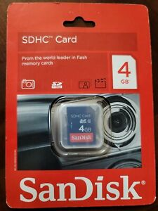 SanDisk SD 4GB SDHC Card - CSDKSDHC4GB1
