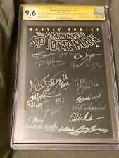 SPIDER-MAN Vol 2 #36 CGC 9.6 SS X 15 Adams Wrightson Golden Marz Layton Morales