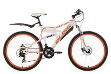 Mountainbike Fully 26 Zoll MTB 21-Gang Bliss Weiss-Orange 21 Gänge 533M
