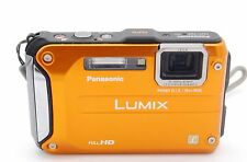 PANASONIC LUMIX DMC-TS3/DMC-FT3 12.1MP WATERRPOOF DIGITAL CAMERA - ORANGE