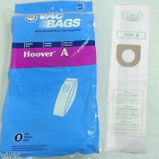 HOOVER TYPE A Upright Vacuum Bags Bissell Style 2 Kenmore 5037 50378 (9pk)