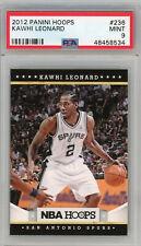 Kawhi Leonard Spurs 2012 Panini Hoops Basketball Rookie Card RC #236 PSA 9 MINT