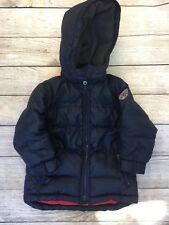 Baby Gap Boys Puffer Jacket Coat Down Blue Winter Kids Toddler Size 4T 4 Years