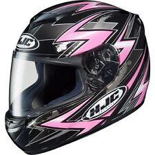 HJC CS-R2 Thunder Pink Womans Motorcycle Helmet XS Extra Small CSR2