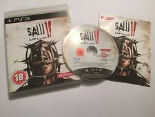 PS3 PLAYSTATION 3 GAME SAW II / 2 FLESH & BLOOD +BOX +INSTRUCTIONS COMPLETE PAL