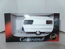 Cararama Oxford 1/43 Scale Caravan  4  1990 White Maroon Gas Bottle