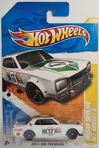 Hot Wheels 2011 - NISSAN SKYLINE 2000GT-X HAKO WHITE