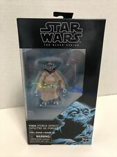 "Star Wars Black Series 6"" Yoda Force Spirit Ghost Action Figure"