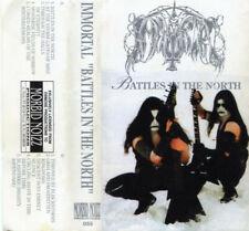 Immortal – Battles In The North. Mint Cassette Tape Morbid Noizz