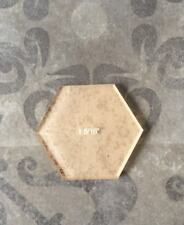 """Hexagon Acrylic Cutting Template for 1"""" paper Hexagon by All Quilty"""