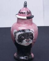bird hamster,guinea pig,mini pet PORTRAIT X small CUSTOM burial Pet Urn for ferret