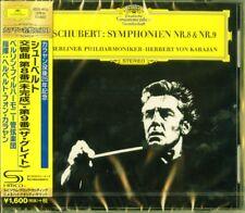 HERBERT VON KARAJAN-SCHUBERT: SYMPHONY NO.8 & NO.9-JAPAN SHM-CD D20