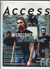 Access  Oct-Nov 2003 Nickleback  Sass Jordan Billy Talent  Jersey    MBX92