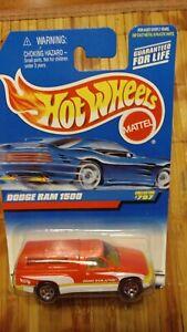 1997 HOT WHEELS '95 DODGE RAM 1500 PICKUP #797 (CAMPER BED COVER)
