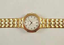 Lassale by Seiko Gold Tone Stainless Steel 7N39-7030 Sample Watch NON-WORKING