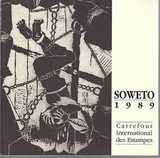 Soweto 1989. Carrefour international des estampes, La Tour-d'Aigues, Vaucluse.