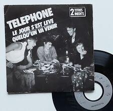 """Vinyle 45T Téléphone """"Le jour s'est levé"""""""