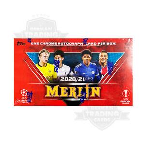 Topps Merlin Chrome 2020-2021 UEFA Champions League Hobby Box