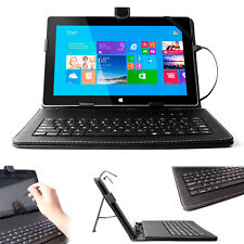 Premium Quality QWERTY Keyboard Case for Microsoft Surface 2 In Black