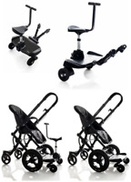 Kids Pram Pushchair Stroller Goldbug Mummy Clip For Baby Child Double