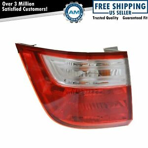 Tail Light Taillamp Left Outer Driver Side LH For 11-13 Honda Odyssey