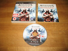 PS3 game - Assassins Creed Brotherhood (complete PAL)