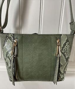 Jessica Simpson Women's Zola Bucket Bag Handbag Purse Loden Green