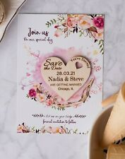 Save the date heart, Personalized Save The Date, Wedding Invitations