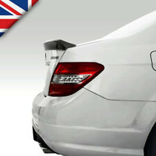 W204 Carbon Fibre Rear Boot/Trunk Lip Spoiler for Mercedes C-Class (C63 AMG Styl