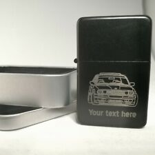 BMW E30 Personalised Lighter Engraved 3 series 325i (Merchandise Present Gift)