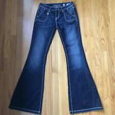 MISS ME Flare JEANS SIZE 26 X 34