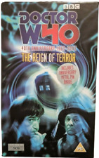 More details for doctor who 40th anniversary the reign of terror vhs tapes tested fully working