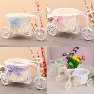 big wheel round basket rattan floats flower vase flowerpots containers small^dm