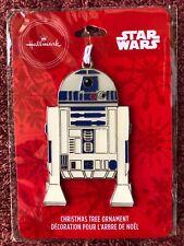 2019 Hallmark Enameled Metal Christmas Tree Ornament Star Wars R2-D2 - New