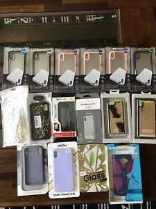 🔥🔥🔥  Apple iPhone Case Lot XS Max 6 7 8 Various Colors Save 💲💲💲