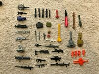 G.I. JOE ARAH Action Figures - Missiles-Guns-Other Accessories! FREE SHIPPING!