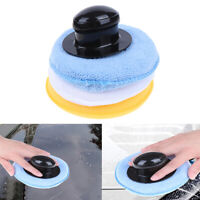 Wax Applicator Pads with Handle 3pcs 13cm  Car Cleaning Tools Pad Auto Spong  AB