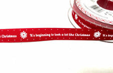 Printed Christmas Lot Ribbons & Ribboncraft