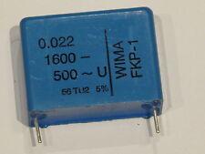 3 unidades Wima fkp-1 impulso condensador 0,022uf 1600v -/500v ~ 5%