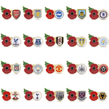 Premier League 2020 Poppy Football Pins | The Royal British Legion | 2020/21 EPL