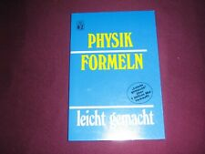 Physik Formeln-Handbuch
